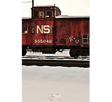 Train Bomb Photographic Print