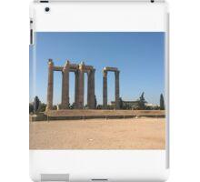 Zeus' Temple, Athens, Greece iPad Case/Skin