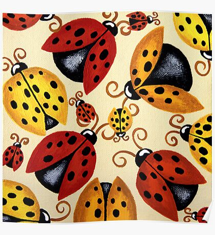'Lady Bugs'   Poster