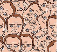 Nicholas Cage by blakethewizz