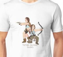 Tombs Before Dudes Unisex T-Shirt