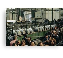 CG15 Covent Garden Beer Festival, London, 1975. Canvas Print