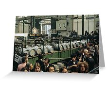 CG15 Covent Garden Beer Festival, London, 1975. Greeting Card
