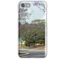 A Brisbane Suburban Street iPhone Case/Skin