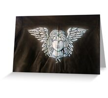 air on leather Greeting Card