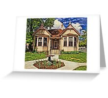 Historic House In Carson City Greeting Card