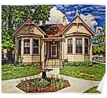 Historic House In Carson City Poster