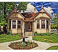 Historic House In Carson City Photographic Print