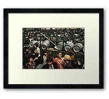 CG11 Covent Garden Beer Festival, London, 1975. Framed Print