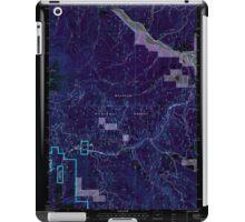 USGS Topo Map Oregon Bates 278952 1996 24000 Inverted iPad Case/Skin