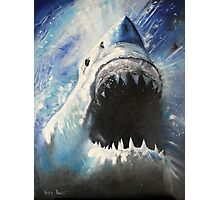 JAWS-OIL PAINTING Photographic Print