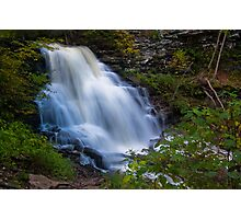 Erie Falls at Ricketts Glen Photographic Print
