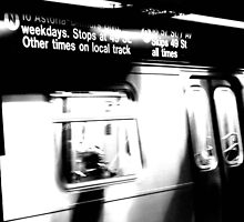 N Train by Samantha Jones