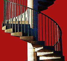 Helter Skelter Steps by Christine Lake