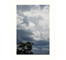 skyscapes #58, the approach Art Print