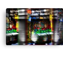 alley life Canvas Print