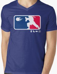 SFL Mens V-Neck T-Shirt
