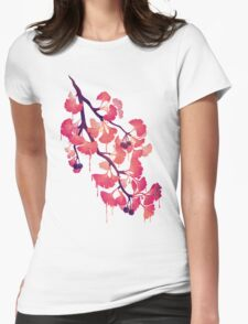 O Ginkgo Womens Fitted T-Shirt