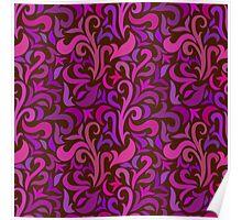- Colorful swirls pattern - Poster