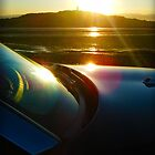 Sunset over Strangford by Chris Cardwell