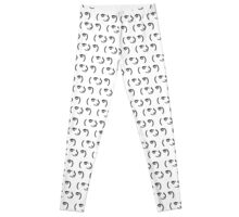 ( ͡° ͜ʖ ͡°) Lenny Face Repeating Leggings