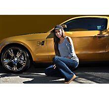 """ Gold Rush "" Photographic Print"