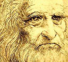 Da Vinci Portrait by sbrosszell