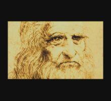 Da Vinci Portrait Kids Tee