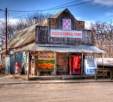 General Store _ Rosston, Texas by jphall