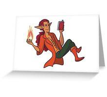 Sorcerer Torrid Greeting Card
