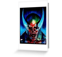 Wolverine High Greeting Card
