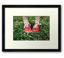 Modern Day Dorothy Framed Print