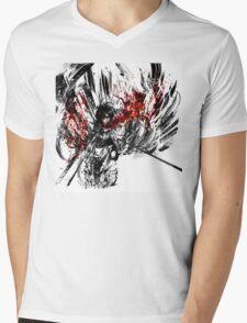 Mikasa Mens V-Neck T-Shirt