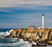 Point Arena Lighthouse by Bryan Peterson