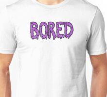 BORED - purple Unisex T-Shirt