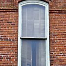 The Window on the Old Brick Building by scenebyawoman