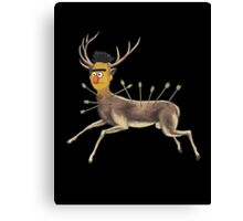 Bert Kahlo  - Deer Canvas Print