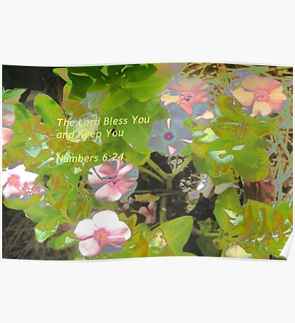 Blessings on you Poster