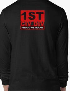 1st CIV DIV  Long Sleeve T-Shirt
