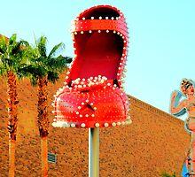 Red Shoe, Las Vegas by infiniteartfoto