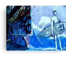 bondi blue Canvas Print