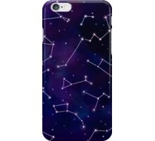 Constellations and the Night Sky iPhone Case/Skin
