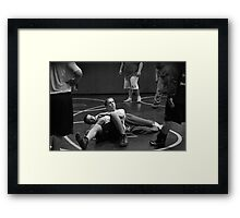 Listen to Your Coaches Framed Print