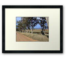 Capertee Valley, looking eastwards towards Glen Davis Framed Print