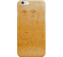 drawing on cardboard, 3 men iPhone Case/Skin