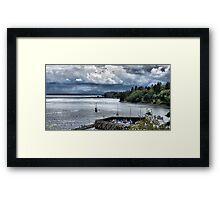 Everett Storm Framed Print