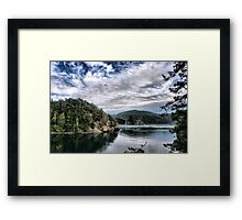 Bridge from Inlet Framed Print