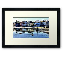 Coupeville Kayakers One Framed Print
