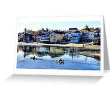Coupeville Kayakers One Greeting Card