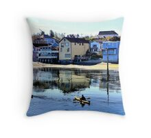 Coupeville Kayakers One Throw Pillow
